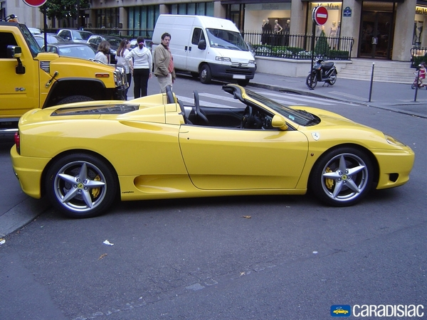 Photo Ferrari 360 Modena Spider