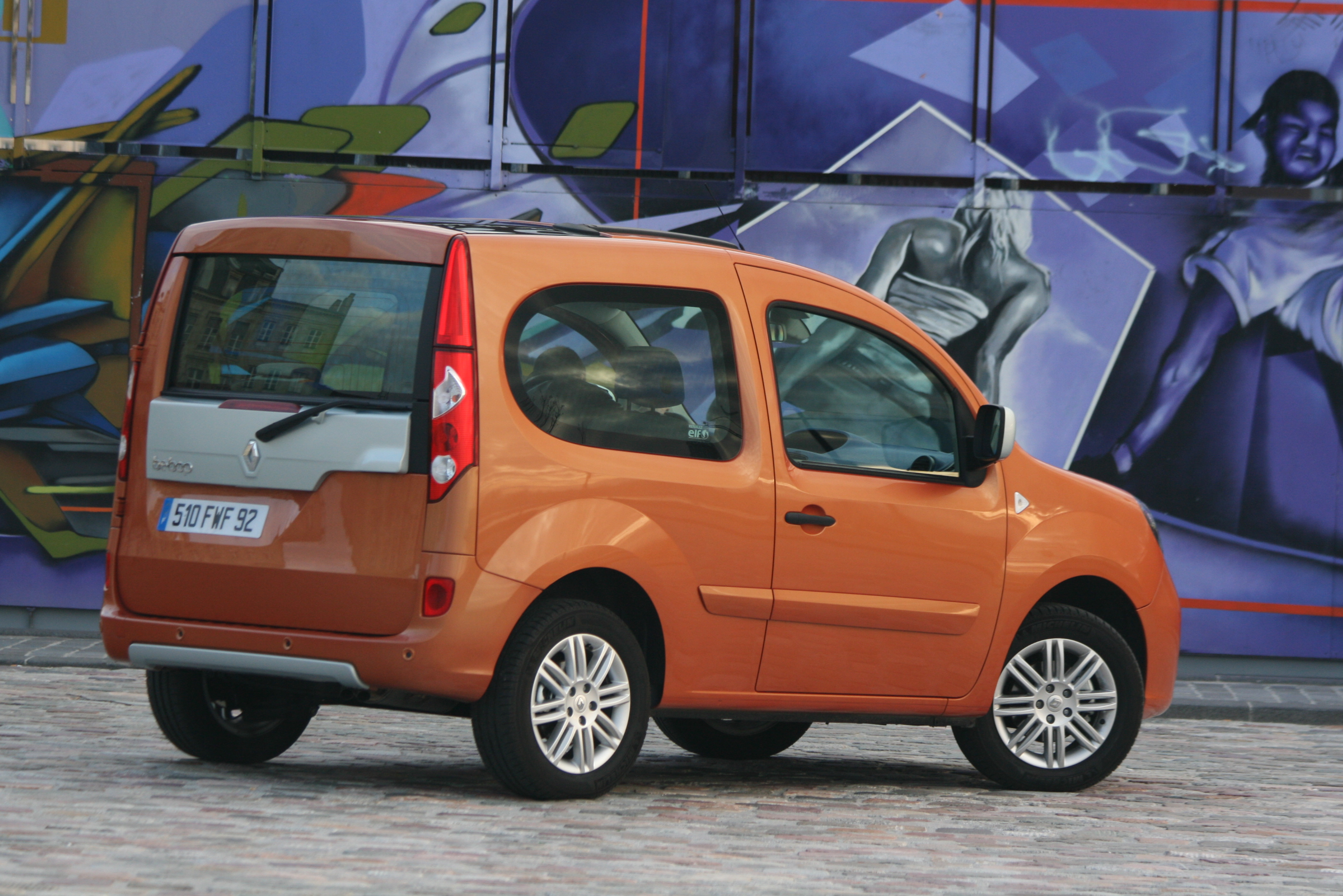photos renault kangoo 2. Black Bedroom Furniture Sets. Home Design Ideas
