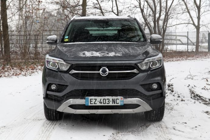 Photo Ssangyong Musso Sports