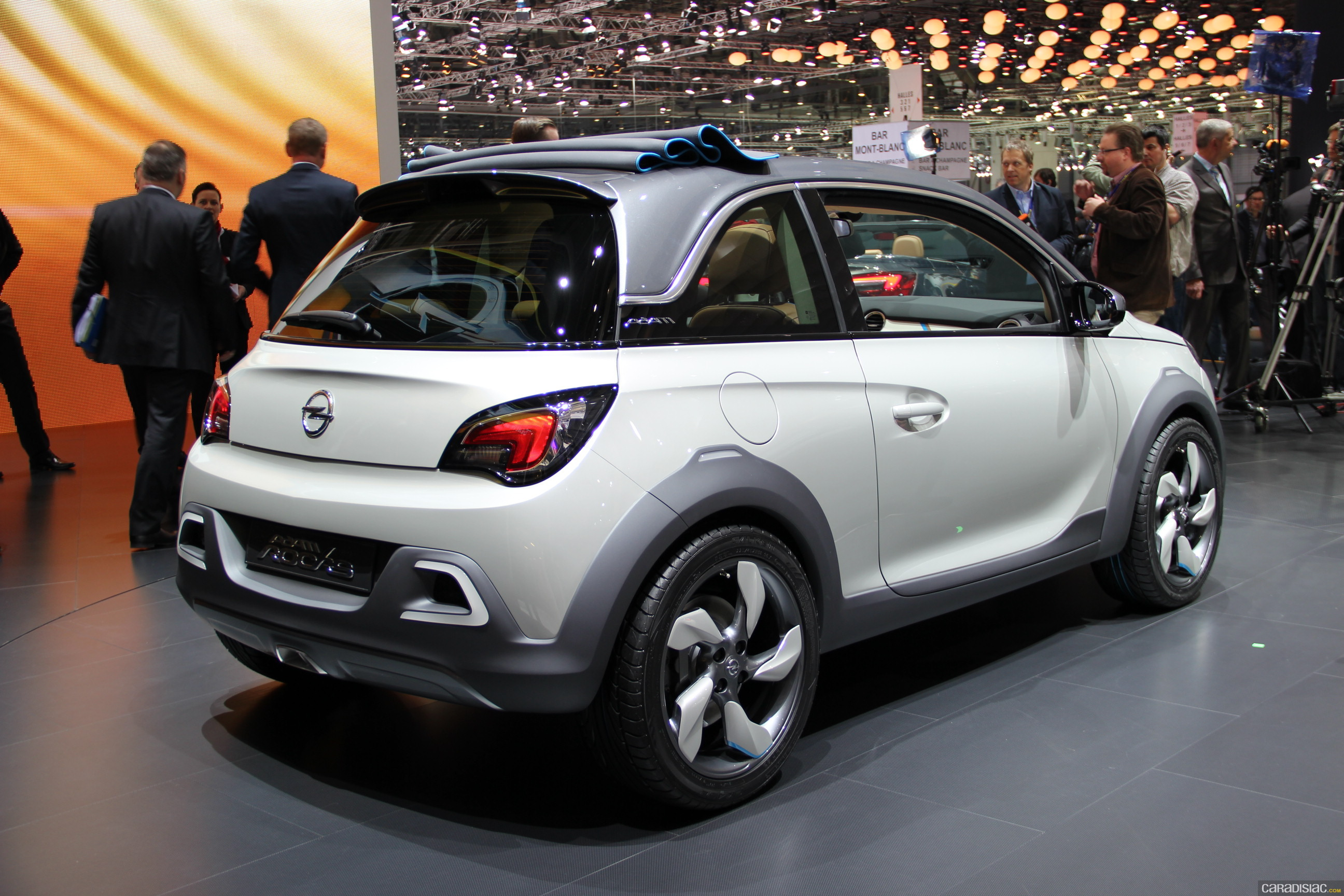 photos opel adam rock concept
