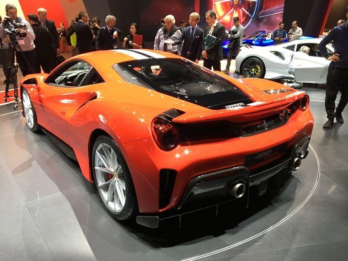 Photo Ferrari 488