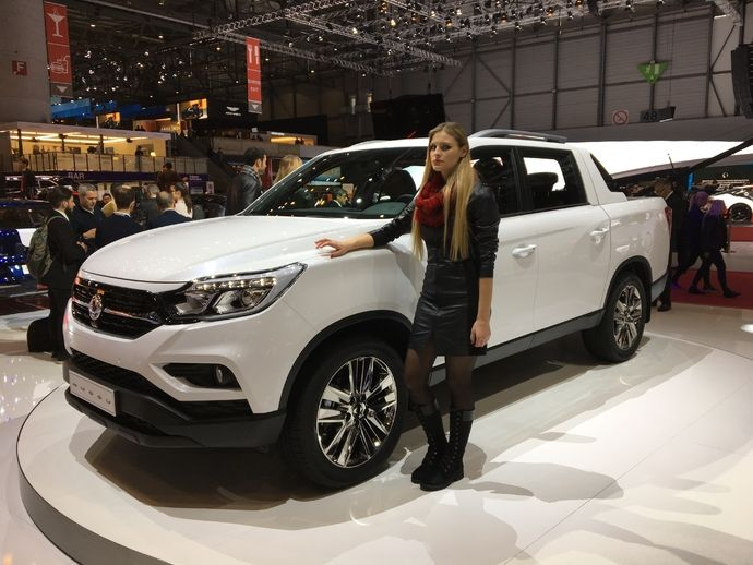 Photo Ssangyong Musso