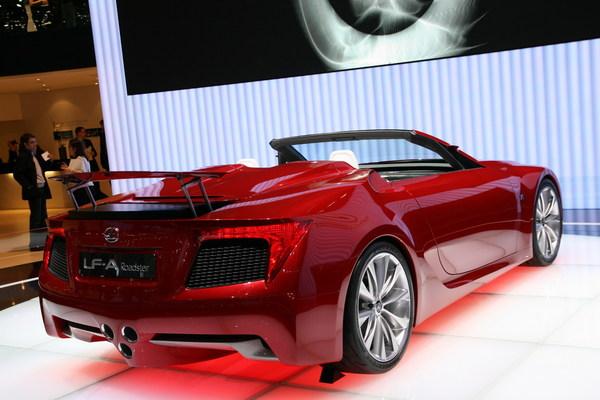 Photo Lexus Lf-a Concept Roadster