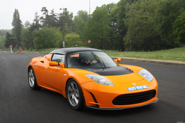 Photo Tesla Roadster