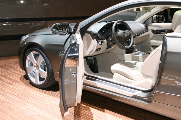 Photo Mercedes Classe E 4 Coupe