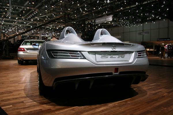 Photo Mercedes Slr Roadster