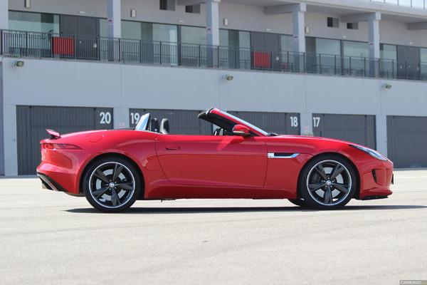 Photo Jaguar F-type