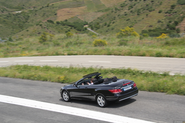 Photo Mercedes Classe E 4 Cabriolet