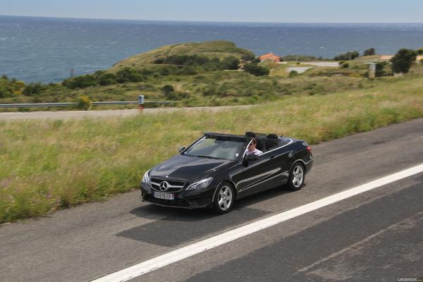 Photo Mercedes Classe E 4 Cabriolet