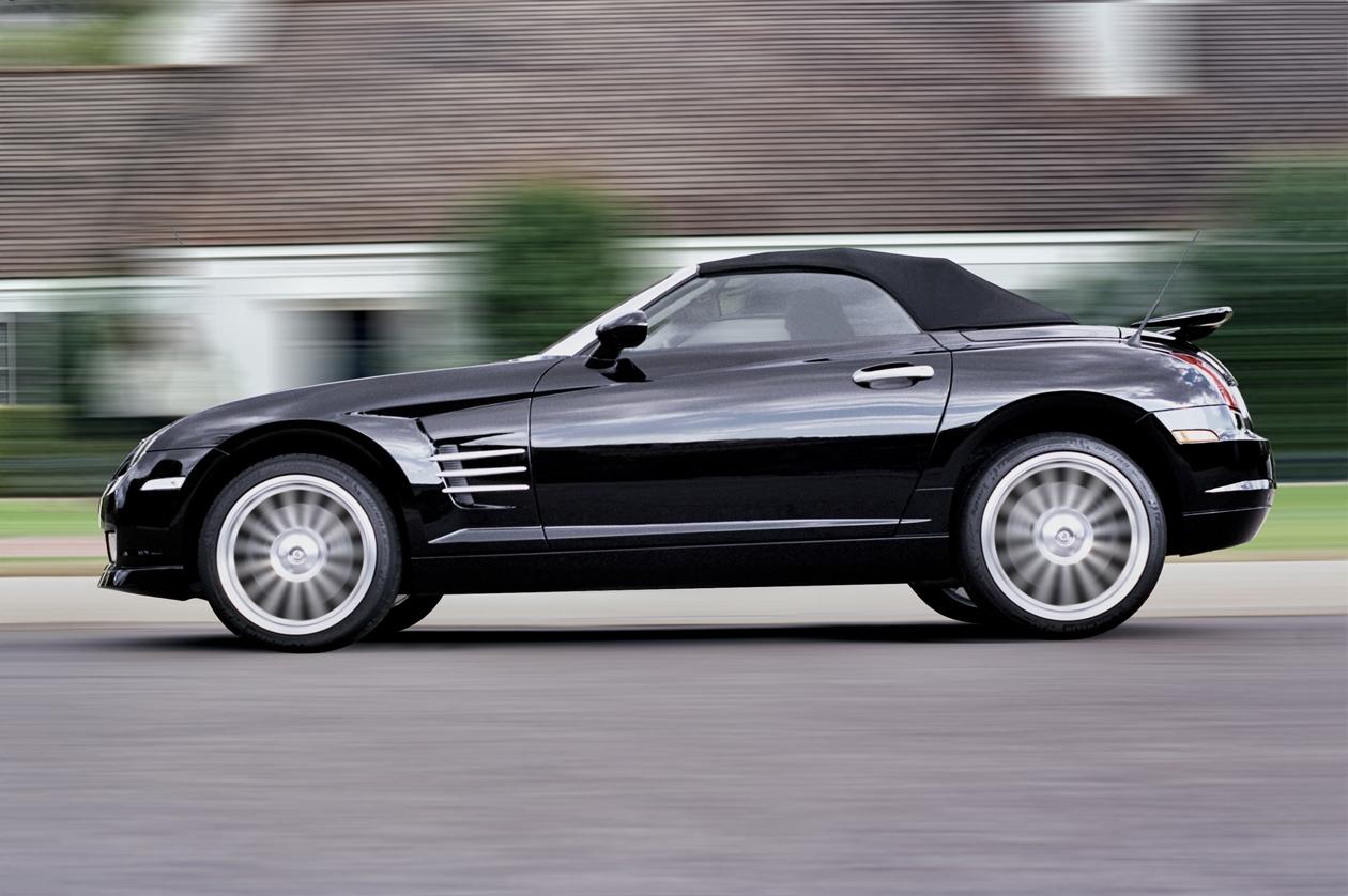 Diaporama Chrysler Crossfire Roadster à retrouver sur caradisiac.com