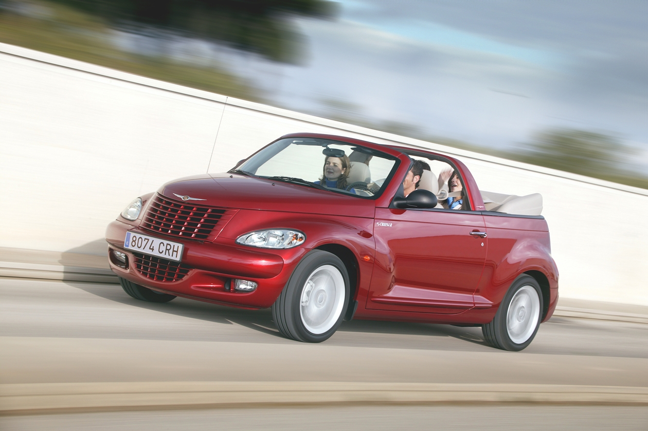 photos chrysler pt cruiser cabrio. Black Bedroom Furniture Sets. Home Design Ideas