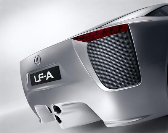 Photo Lexus Lf-a Concept Coupe