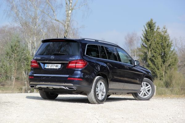 Photo Mercedes Gls