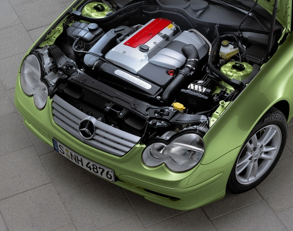 Photo Mercedes Classe C Coupe Sport