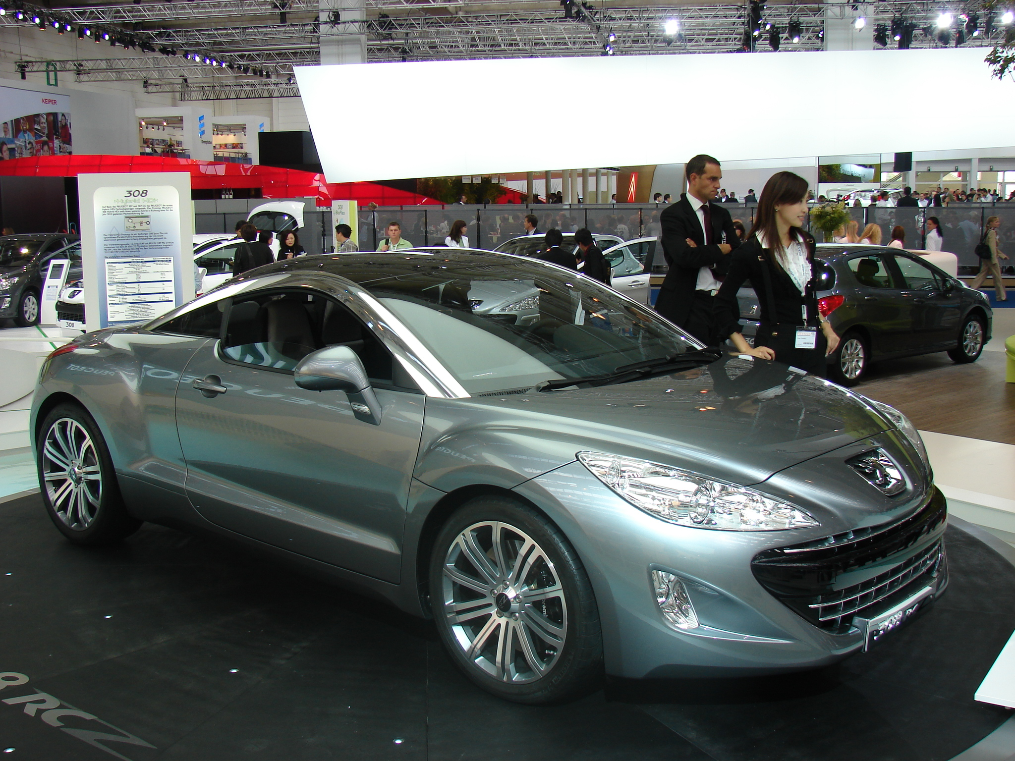 photos peugeot 308 rcz concept. Black Bedroom Furniture Sets. Home Design Ideas