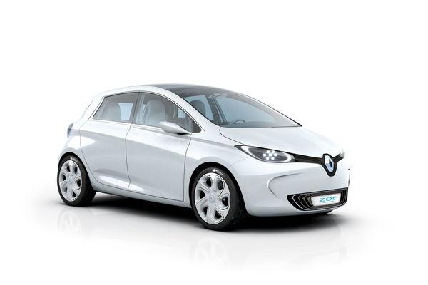 Photo Renault Zoe