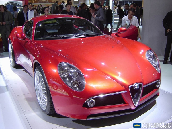 Photo Alfa Romeo 8c Competizione