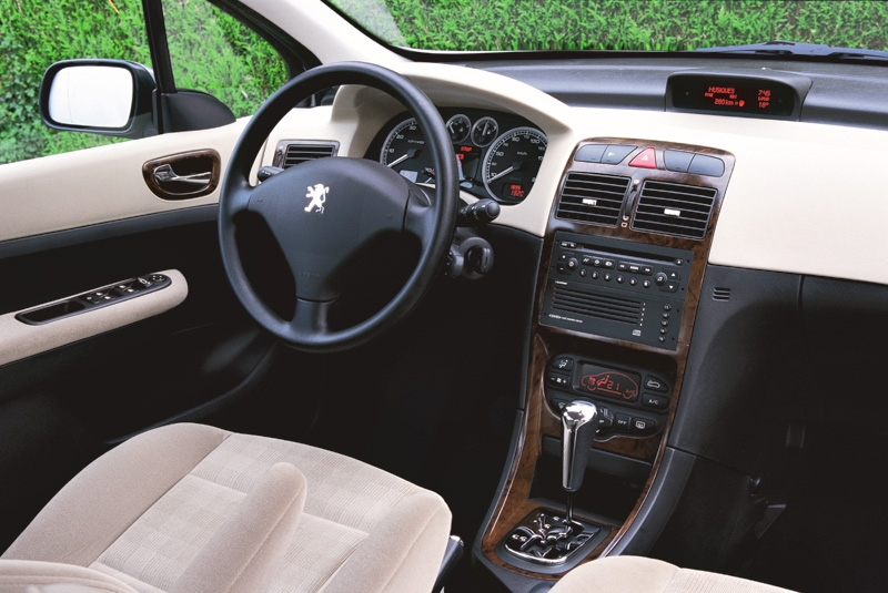 Photos peugeot 307 for Tableau interieur