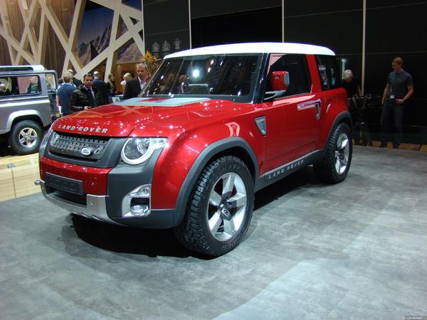 Photo Land Rover Dc100