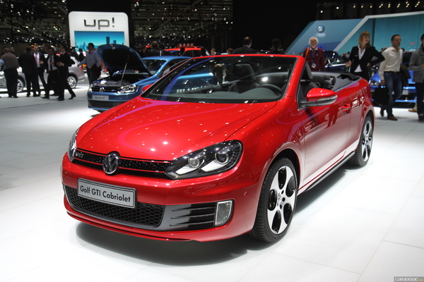 Photo Volkswagen Golf 6 Cabriolet