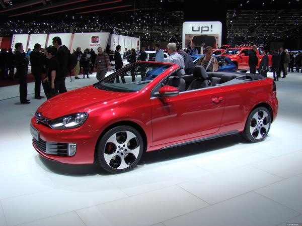 Photo Volkswagen Golf 6 Cabriolet