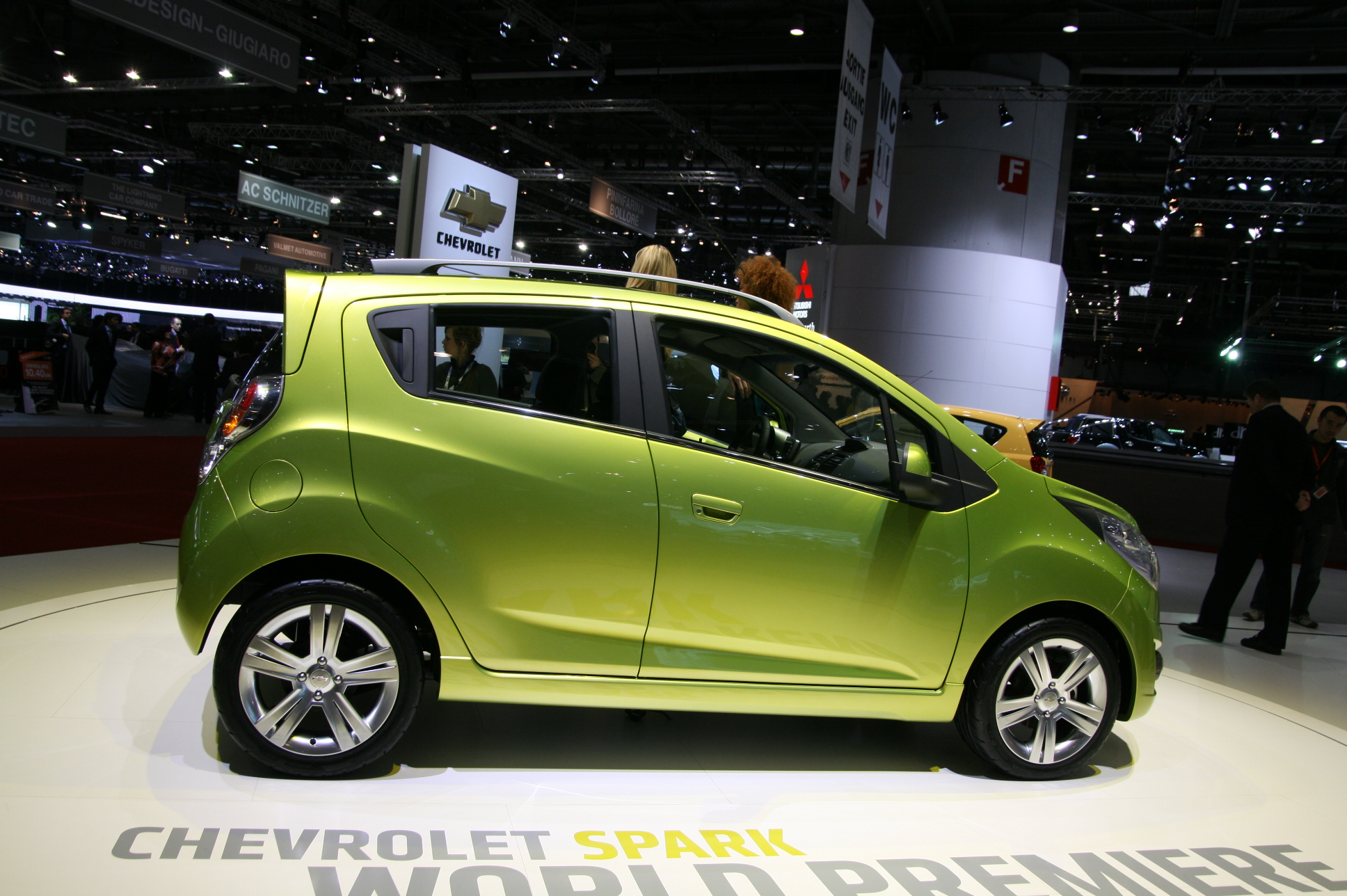 photos chevrolet spark concept. Black Bedroom Furniture Sets. Home Design Ideas