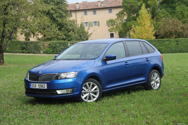 Photo Skoda Rapid Spaceback