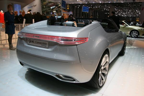 Photo Saab 9-x Convertible Concept