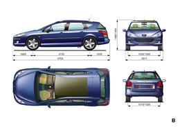 Peugeot 407 sw essais fiabilit avis photos vid os for Interieur 407 sw