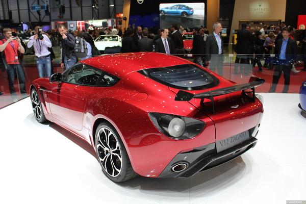 Photo Aston Martin V12 Zagato