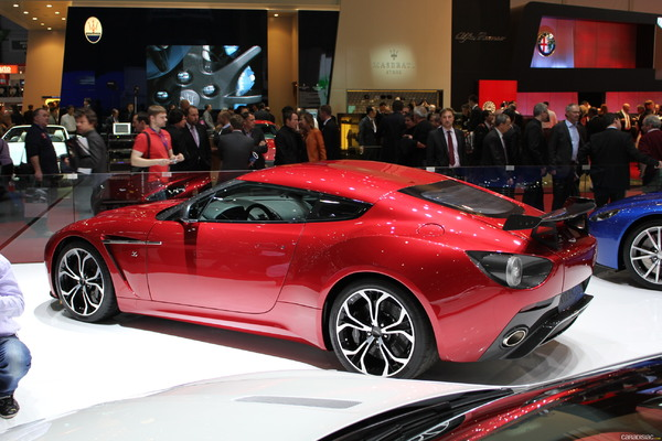 Photo Aston Martin V12 Zagato