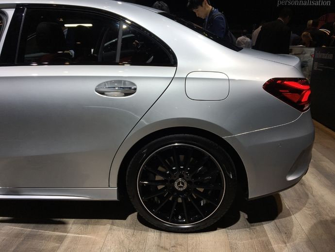 Photo Mercedes Classe A 4 Berline
