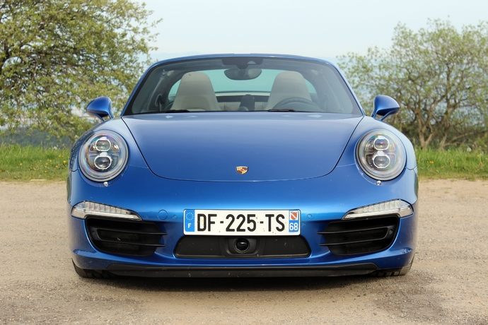 Photo Porsche 911 Type 991 Targa