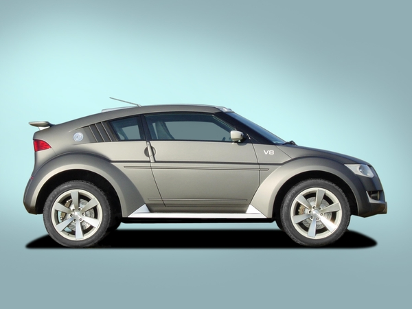 Photo Mitsubishi Pajero Evolution Concept