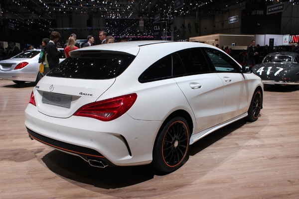 Photo Mercedes Cla Shooting Brake