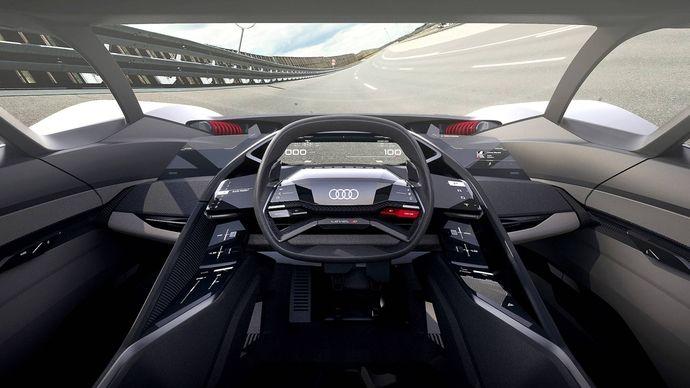 Photo Audi P18 E-tron Concept