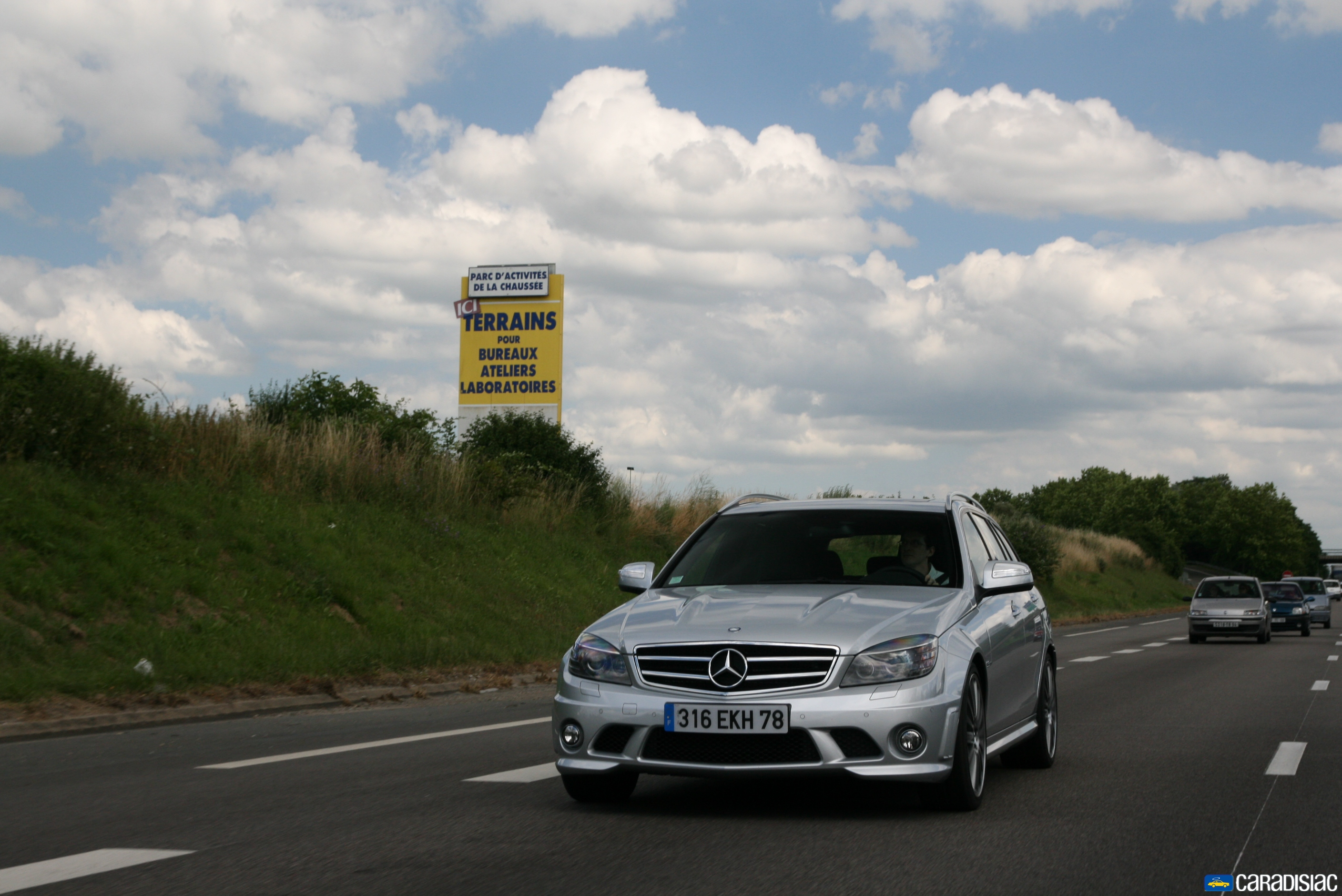 Photos MERCEDES C63 AMG BREAK - 67