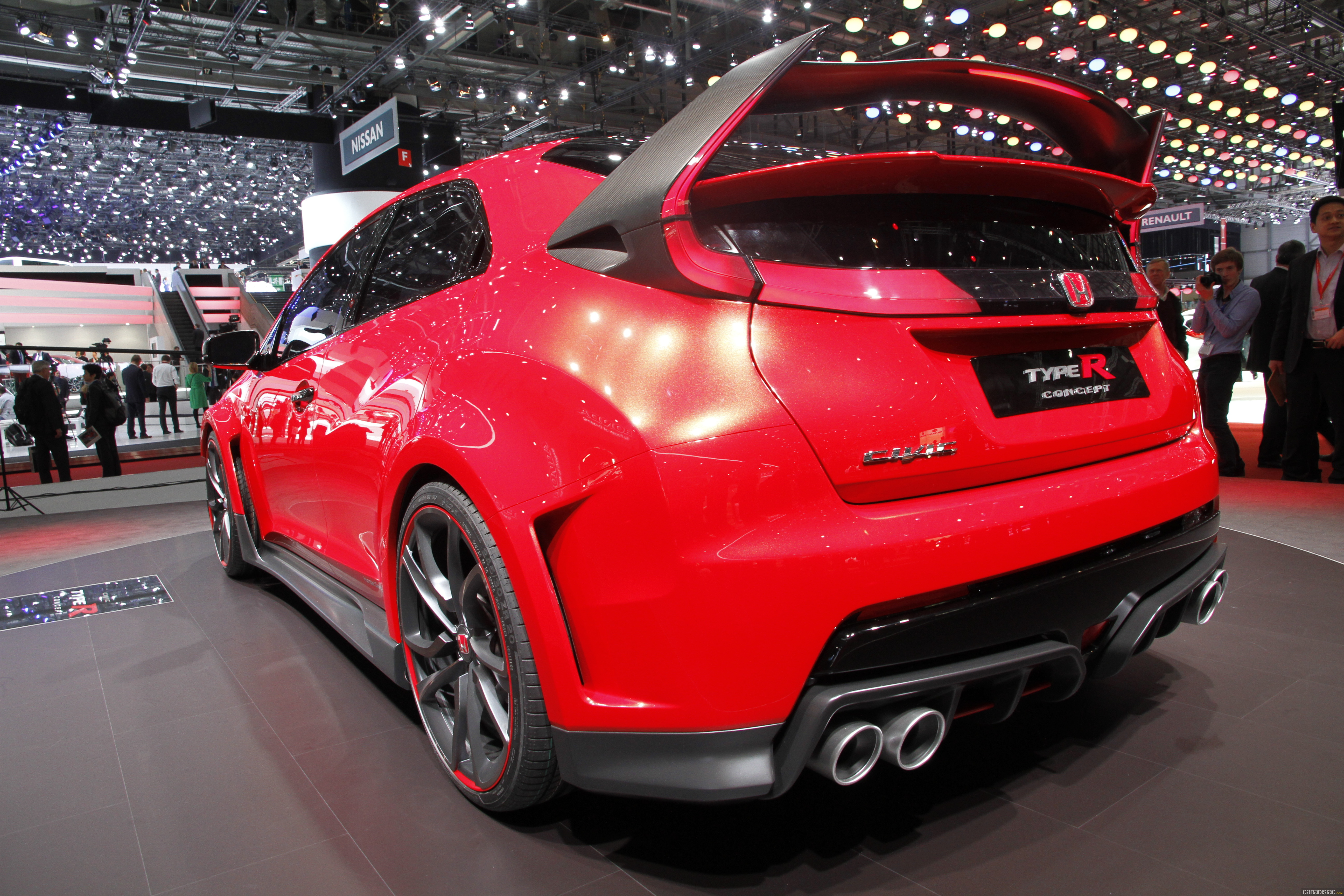 photos honda civic type r concept. Black Bedroom Furniture Sets. Home Design Ideas