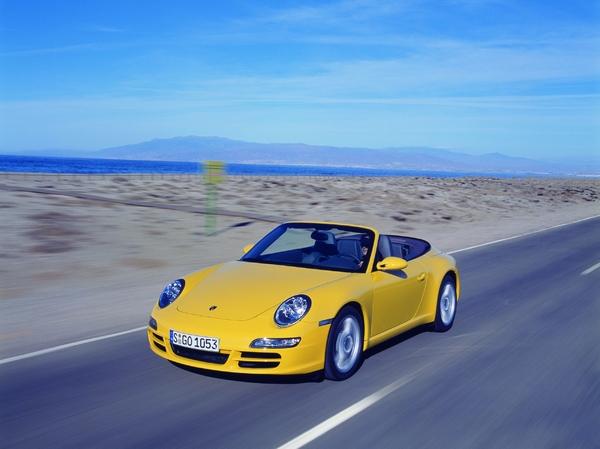 Photo Porsche 911 Type 997 Cabriolet