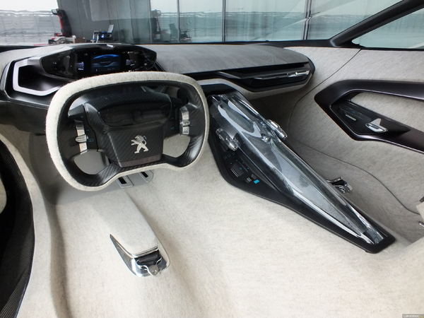 Photo Peugeot Onyx Concept