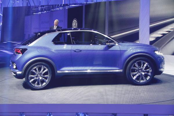 Photo Volkswagen T-roc Concept
