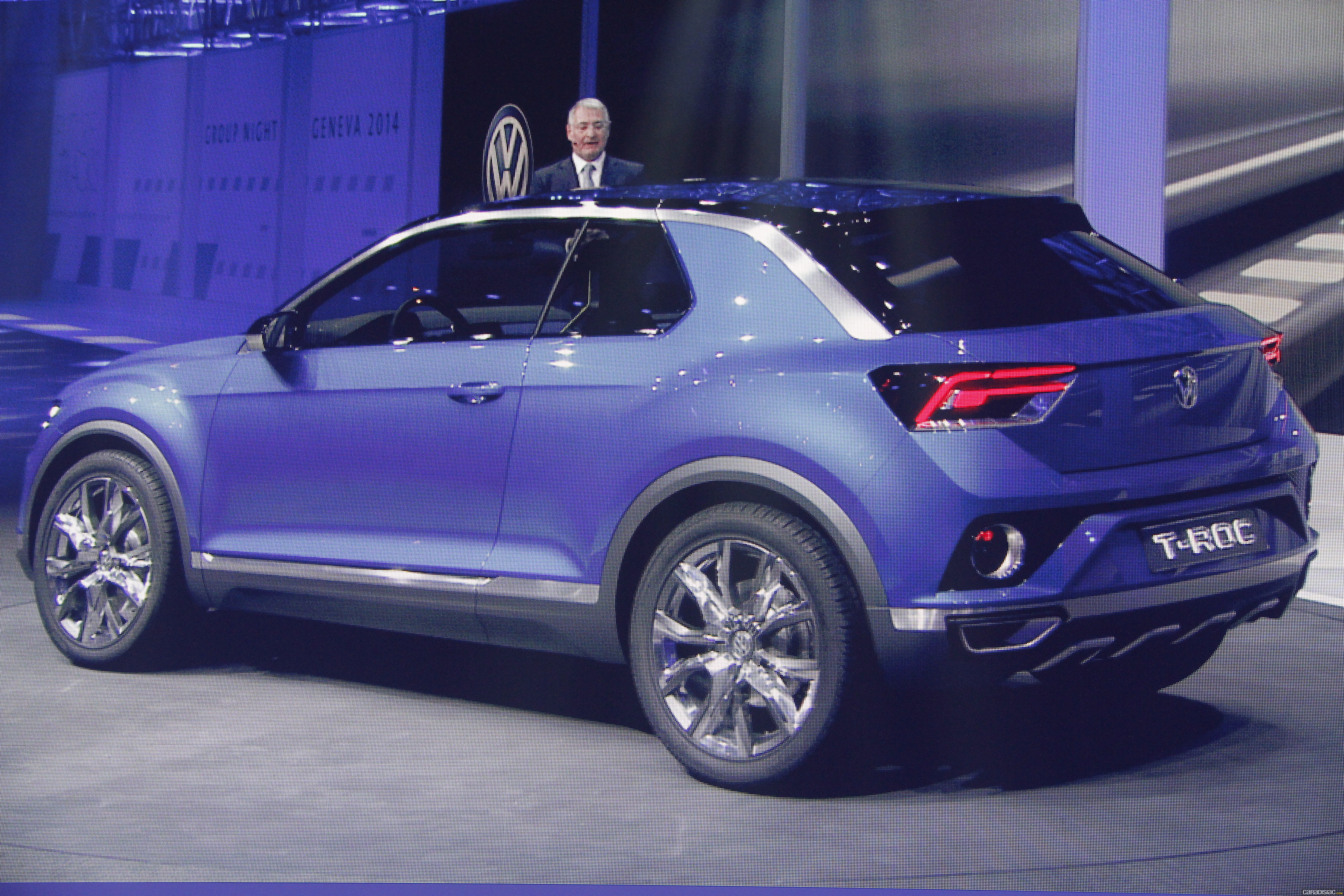photos volkswagen t roc concept. Black Bedroom Furniture Sets. Home Design Ideas