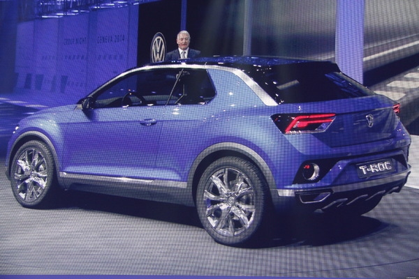 Photo Volkswagen T-roc Concept