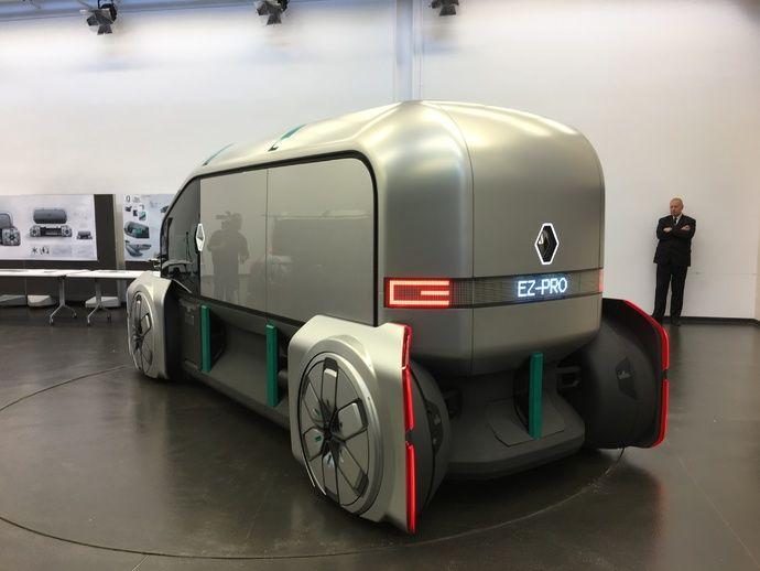 Photo Renault Ez Pro Concept